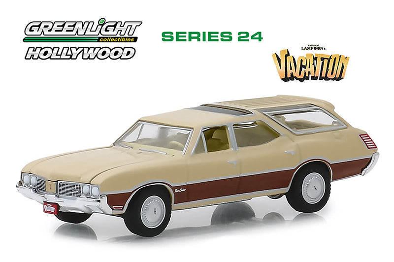 Oldsmobile Vista Cruiser 1970 Greenlight Hollywood 1/64
