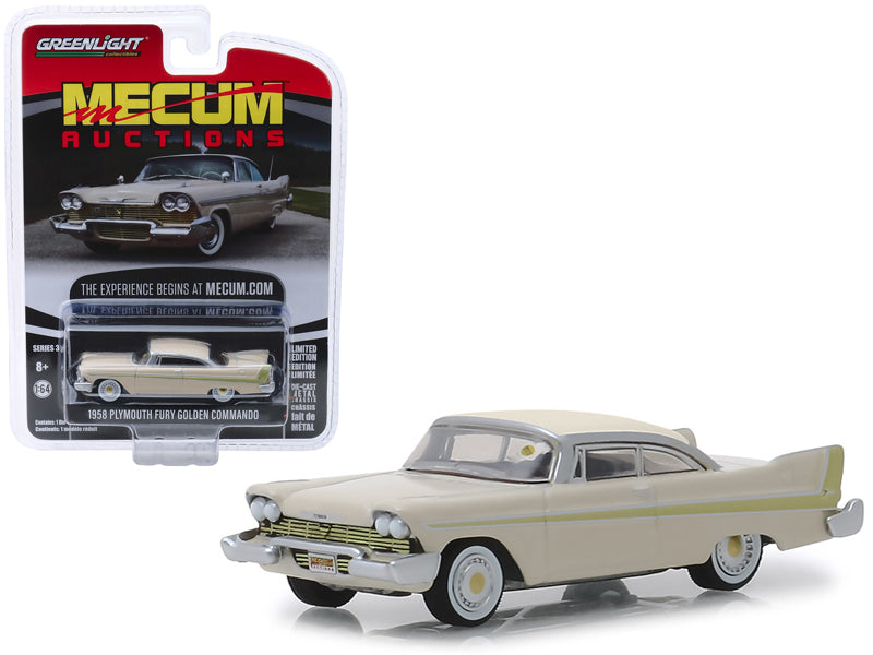 Plymouth Fury Golden Commando 1957 Mecum Auctions Greenlight 1/64