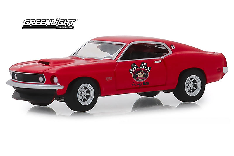 Ford Mustang Boss 429 1969 The Busted Knuckle Greenlight 1/64