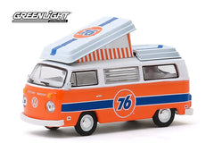 Volkswagen Westfalia Campmobile 1973 Club V-Dub Greenlight 1/64