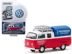 Volkswagen T2 Type 2 Double Cab Pick Up 1976 Club V-Dub Greenlight 1/64