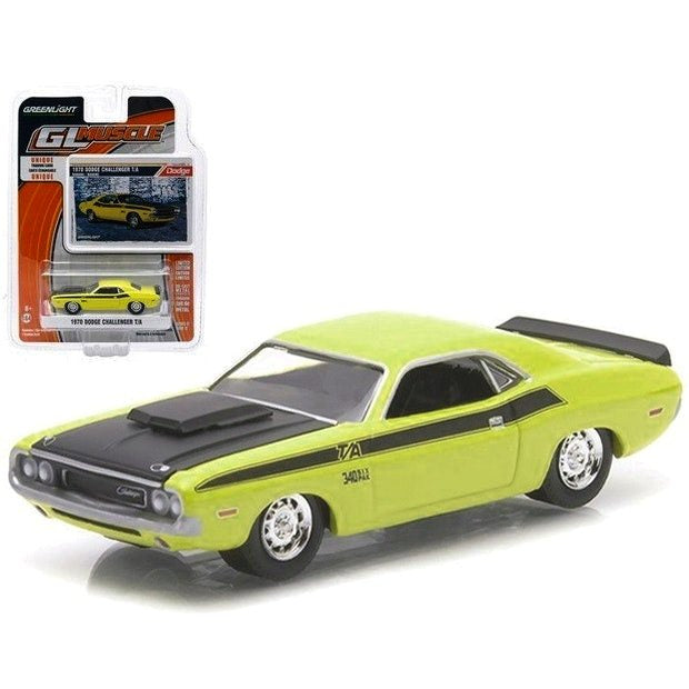 Dodge Challanger T/A 1970 GL Muscle Greenlight 1/64