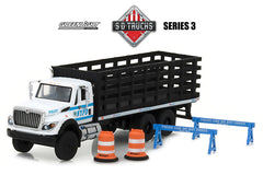 International WorkStar NYPD HD Trucks Greenlight 1/64