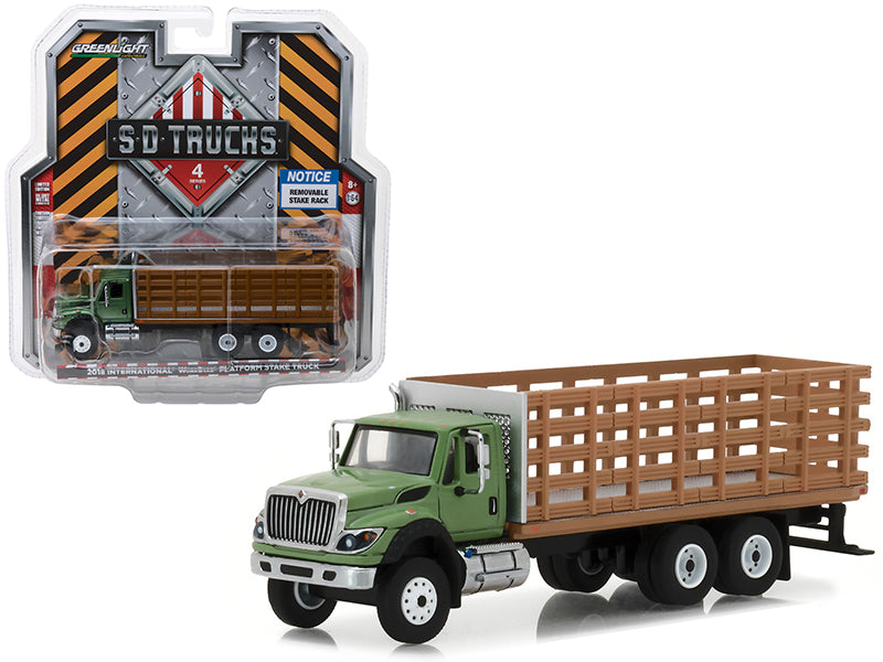 International WorkStar HD Trucks Greenlight 1/64