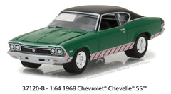 Chevrolet Chevelle SS 1968 Greenlight Holiday Ornaments Series 2 1/64