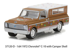 Chevrolet C-10 Pick Up 1972 Greenlight Holiday Ornaments Series 2 1/64