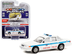 Ford Crown Victoria Police Interceptor 1995 Greenlight Hot Pursuit 1/64