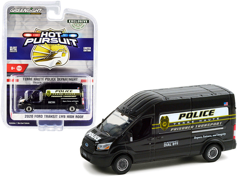Ford Transit LWB High Roof Police Greenlight 1/64