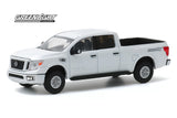 Nissan Titan XD Pro-4X 2019 Greenlight Blue Collar Collection 1/64