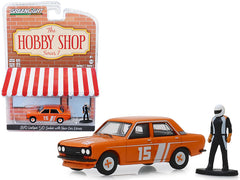Datsun 510 Sedan 1970 Hobby Shop Greenlight 1/64