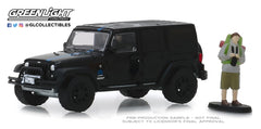 Jeep Wrangler Unlimited 2012 Hobby Shop Greenlight 1/64