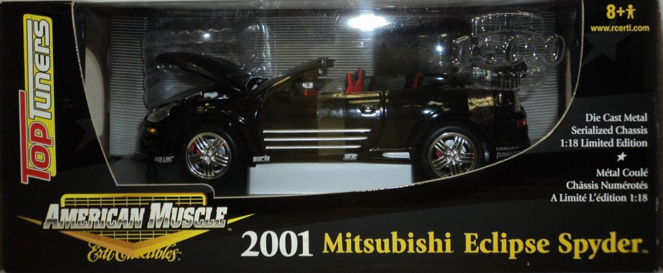 Mitsubishi Eclipse Spyder 2001 ERTL American Muscle; Top Tuner 1/18