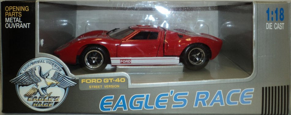 Ford GT-40 Street Version Eagle's Race 1/18