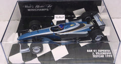 BAR 01 Supertec Test Car 1999 Minichamps 1/43