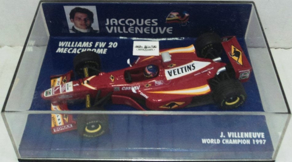 Williams FW20 Mechacrome 1998 Minichamps 1/43