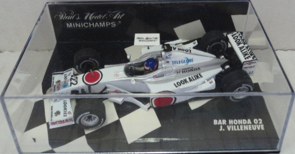 BAR Honda 02 2002 Minichamps 1/43