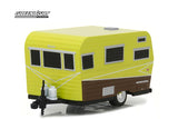 Roulotte Siesta Travel Trailer 1958 Hitched Homes Greenlight 1/64