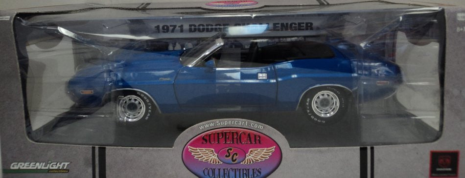 Dodge Challenger 1971 Greenlight Supercar Collectibles 1/18