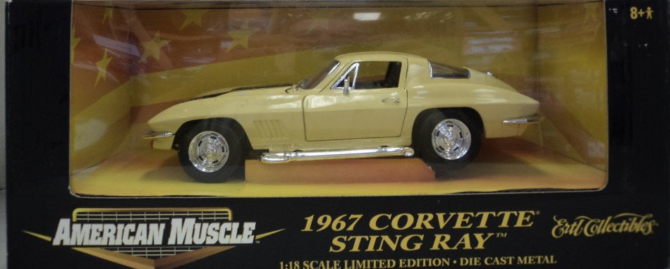 Chevrolet Corvette Sting Ray 1967 ERTL American Muscle 1/18