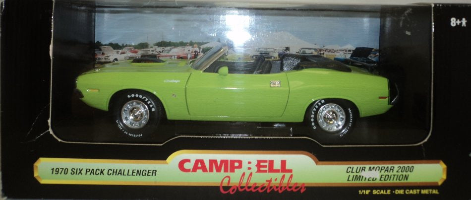 Dodge Challenger R/T Convertible ERTL American Muscle Backyard Conversion 1/18