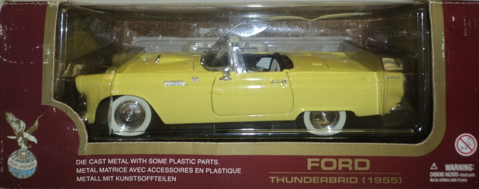 Ford Thunderbird 1955 Road Legends 1/18