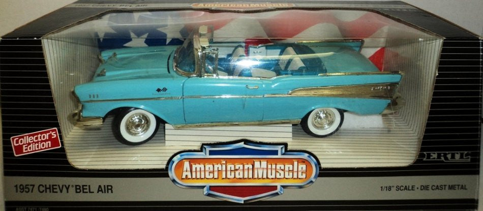 Chevrolet Bel Air Convertible 1957 ERTL American Muscle 1/18
