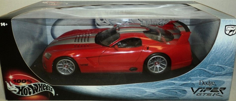 Dodge Viper GTSR Hot Wheels 1/18