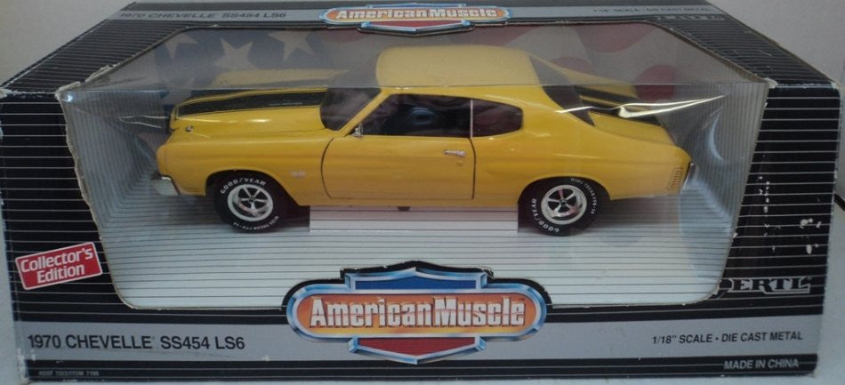Chevrolet Chevelle SS 454 LS6 1970 ERTL American Muscle 1/18