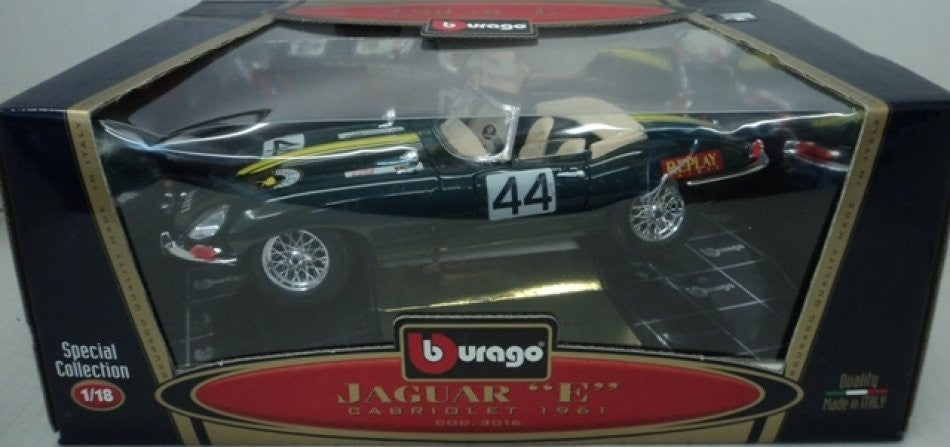 Jaguar Type E Convertible 1961 Burago 1/18
