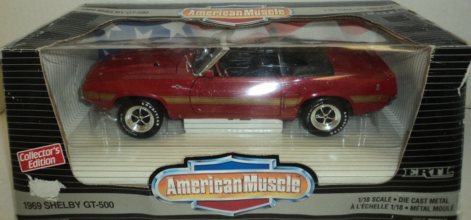 Shelby GT-500 Convertible 1969 ERTL American Muscle 1/18