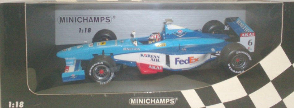 Benetton B198 Minichamps 1/18