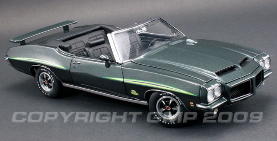 Pontiac GTO 1971 Judge Convertible GMP 1/18