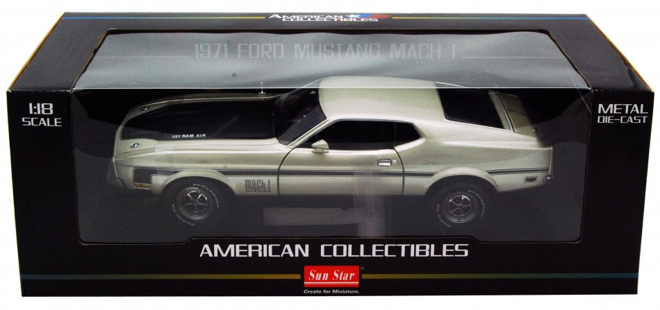 Ford Mustang Mach I 1971Sun Star 1/18