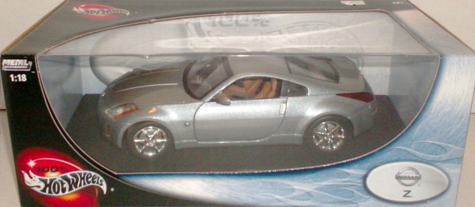 Nissan 350 Z Hot Wheels 1/18