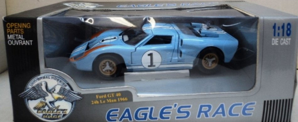 Ford GT 40 LeMans 1966 Eagle's Race 1/18