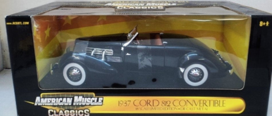 Cord 812 Convertible 1937 ERTL American Muscle Classics