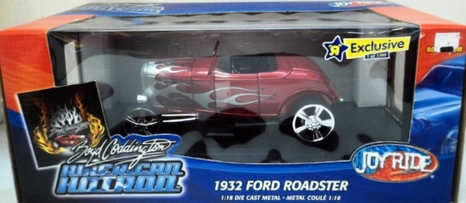 Ford Roadster Hot Rod 1932 ERTL Joy Ride 1/18