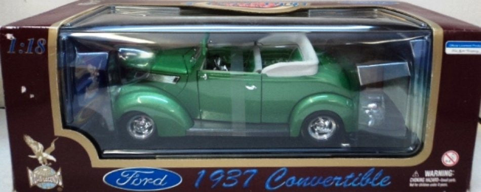 Ford Convertible 1937 Road Legends 1/18