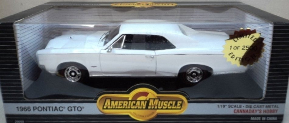 Pontiac GTO 1966 ERTL American Muscle Cannaday's Hobby Edition 1/18
