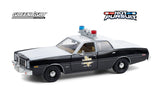 Dodge Monaco 1977 Police Greenlight 1/24