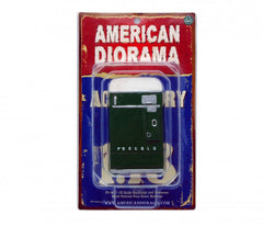 Distributrice de boisson gazeuse 7 up American Diorama 1/18
