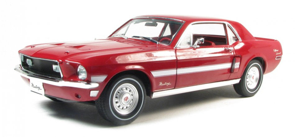 Ford Mustang GT/CS Coupe 1968 Greenlight 1/18