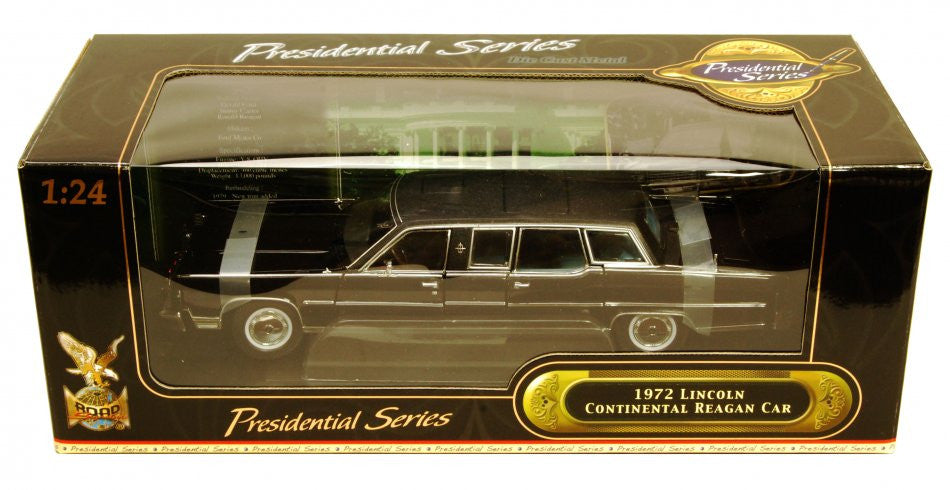 Lincoln Continental Limousine présidentielle 1972 Road Signature 1/18