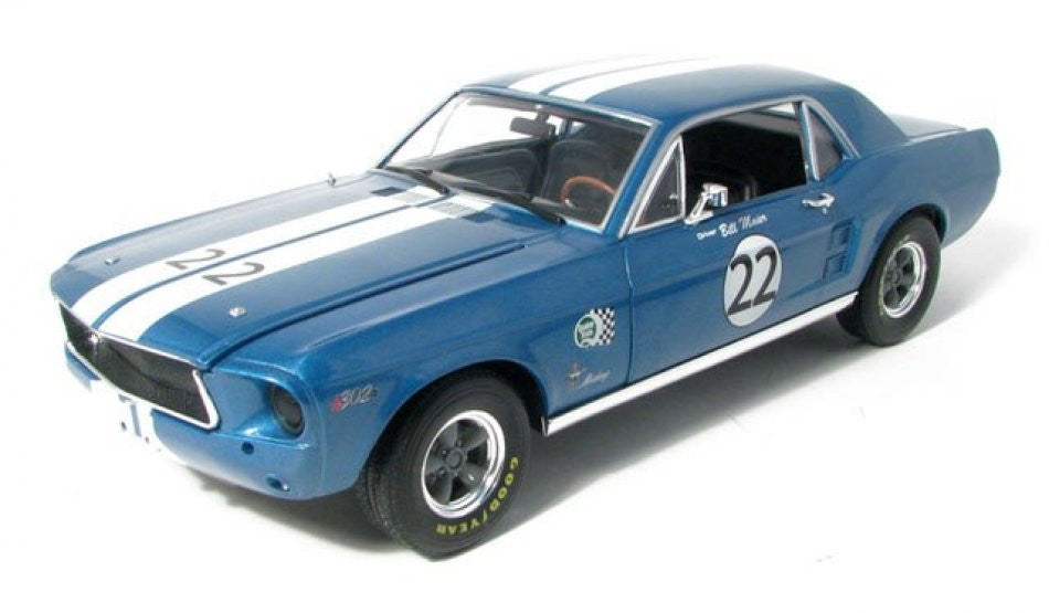 Ford Mustang Coupe # 22 Bill Maier 1968 Greenlight 1/18