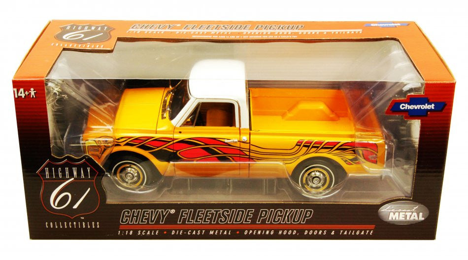 Chevrolet C-10 Fleetside Pick Up 1972 Highway 61 1/18