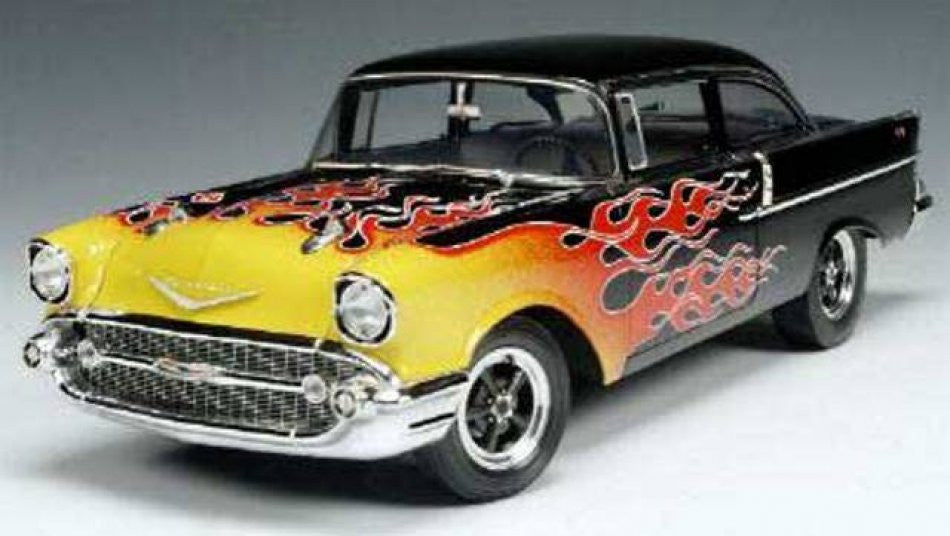 Chevrolet 210 Utility Sedan Hot Rod 1957 Highway 61 1/18