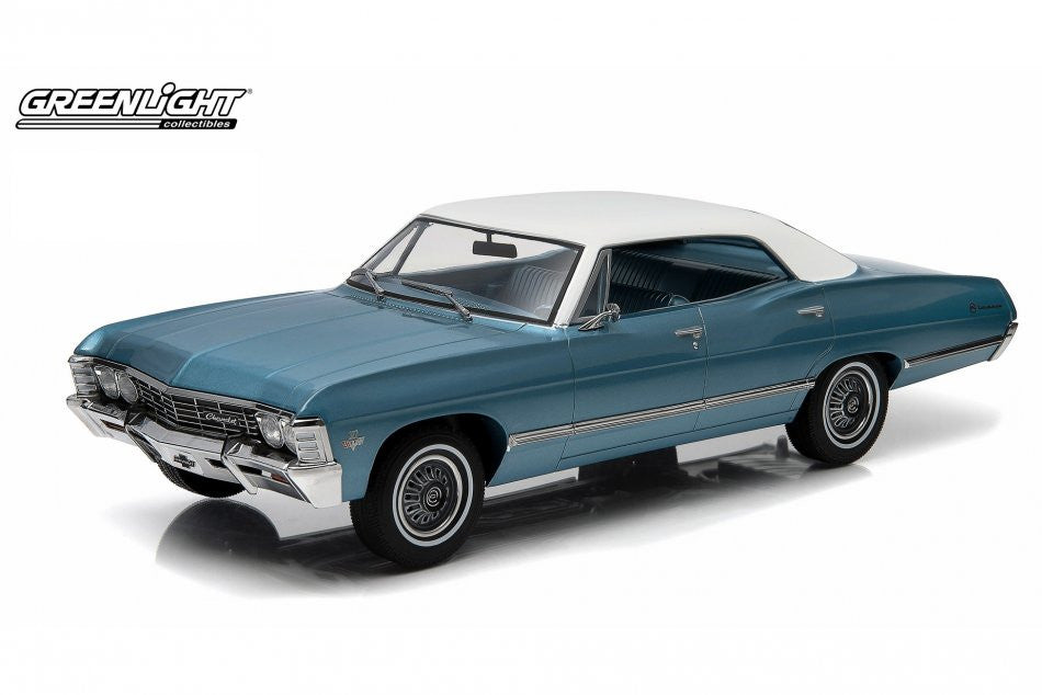 Chevrolet Impala 4 portes Sport Sedan 1967 Greenlight Artisan 1/18