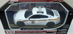 Dodge Charger Pursuit Police SQ 2014 Motor Max 1/24