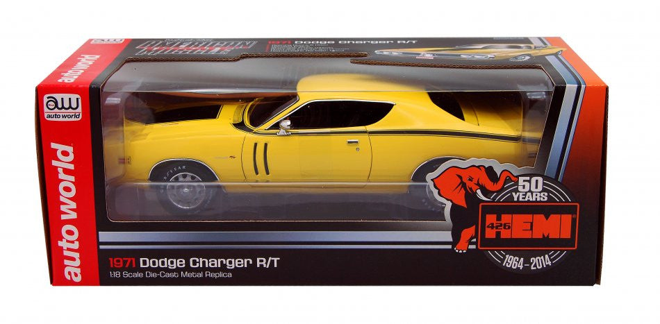 Dodge Charger R/T 1971 Auto World 1/18