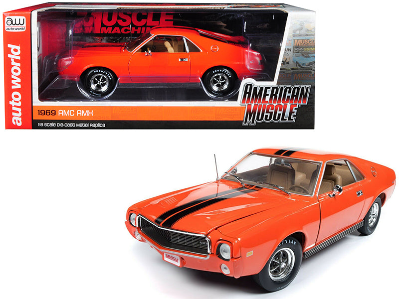 AMC AMX 1969 Auto World 1/18